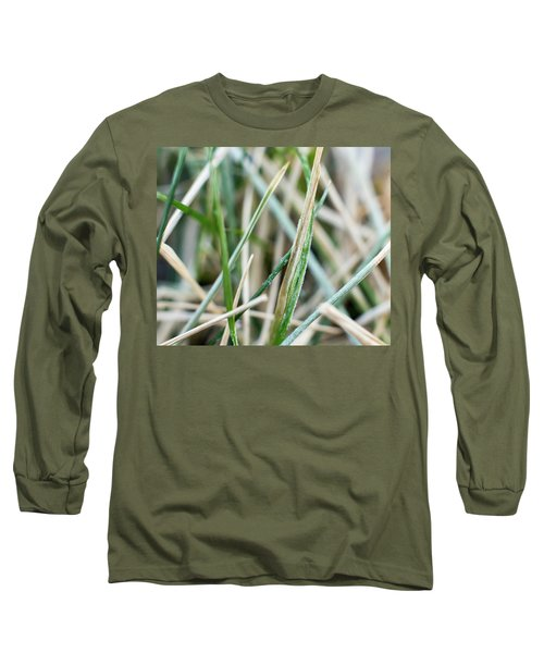 Frozen Grass Long Sleeve T-Shirt