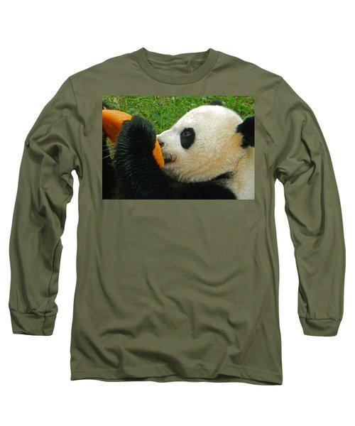 Frozen Treat For Mei Xiang The Giant Panda Long Sleeve T-Shirt
