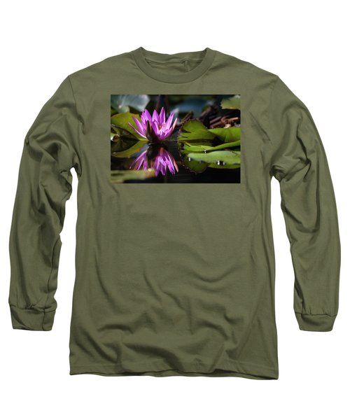Long Sleeve T-Shirt featuring the photograph Fuchsia Dreams by Suzanne Gaff