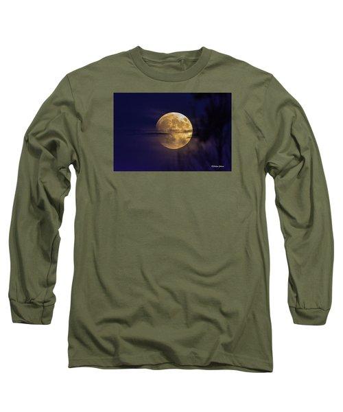 Full Moon Rise  Long Sleeve T-Shirt