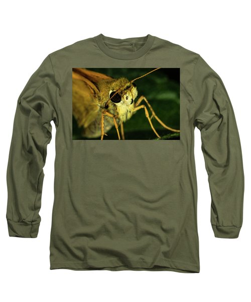 Fur Face Long Sleeve T-Shirt