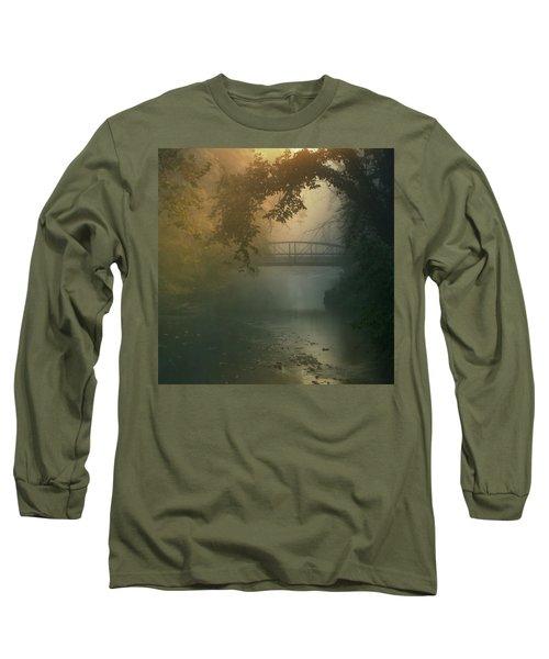 Furnace Run - Square Long Sleeve T-Shirt by Rob Blair