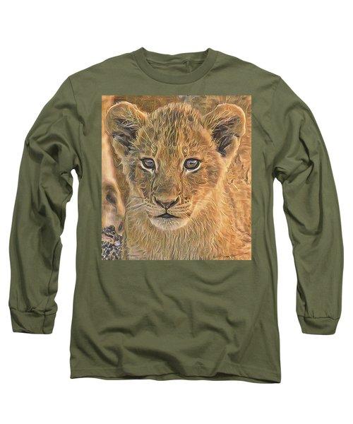 Fuzzy Cubby Long Sleeve T-Shirt