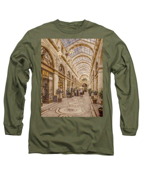 Paris, France - Galerie Vivienne Long Sleeve T-Shirt
