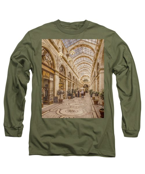 Paris, France - Galerie Vivienne Long Sleeve T-Shirt