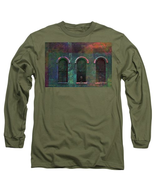 Galesburg Windows 1 Long Sleeve T-Shirt