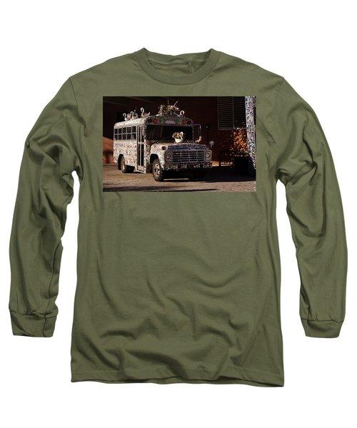 Gallery A Go Go Long Sleeve T-Shirt by Joseph Skompski