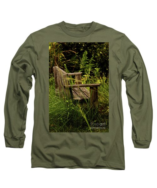 Garden Bench Long Sleeve T-Shirt