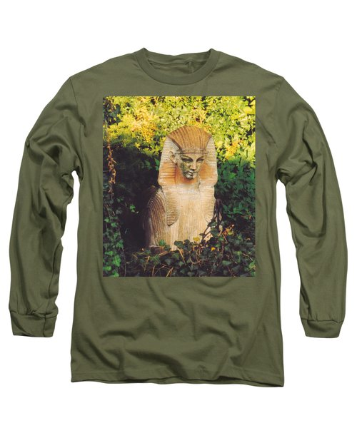 Long Sleeve T-Shirt featuring the photograph Garden Guardian by Jan Amiss Photography