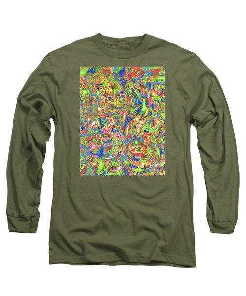 Garden Of Reflections Long Sleeve T-Shirt