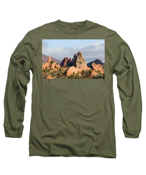 Garden Of The Gods Colorado Springs Long Sleeve T-Shirt