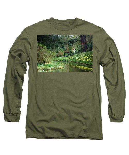Garden Pond Long Sleeve T-Shirt