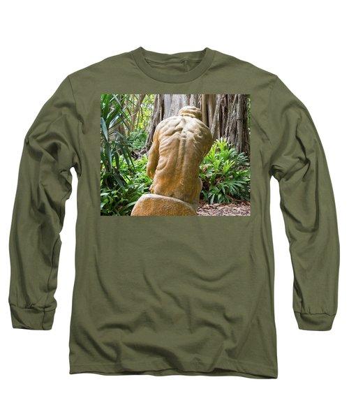 Garden Sculpture 1 Long Sleeve T-Shirt