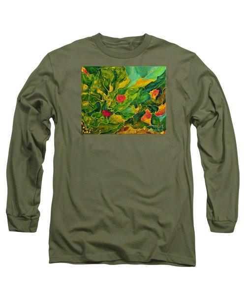 Garden Series Long Sleeve T-Shirt by Teresa Wegrzyn