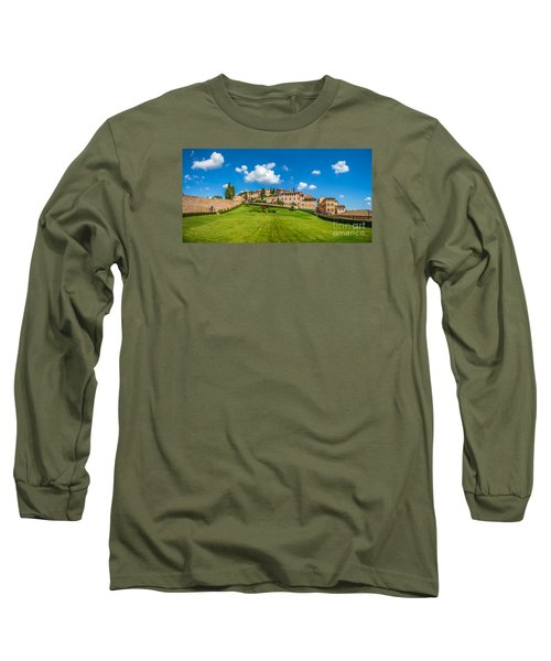 Gardens Of Assisi Long Sleeve T-Shirt by JR Photography