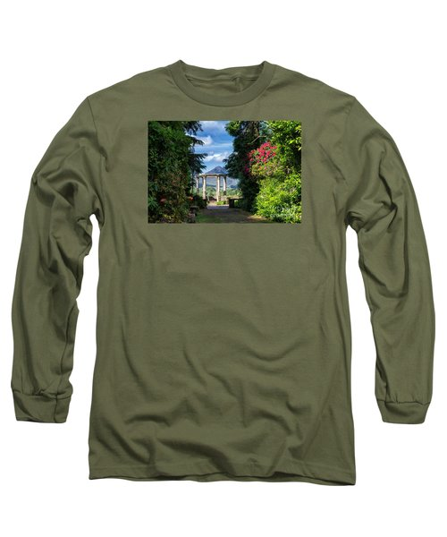 Long Sleeve T-Shirt featuring the photograph Garinish Island by Juergen Klust