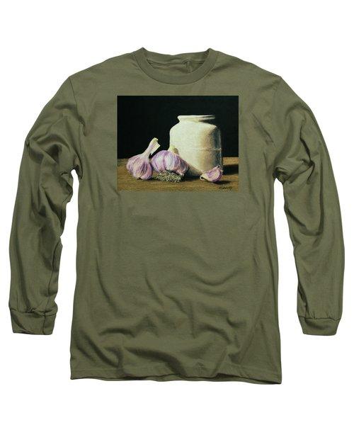 Garlic Crock Long Sleeve T-Shirt