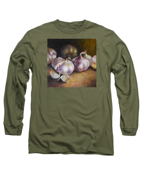 Garlic Painting Long Sleeve T-Shirt