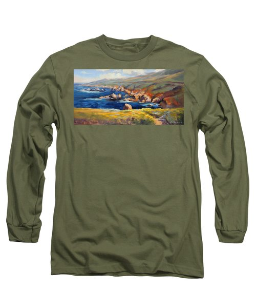 Garrapata Spring Long Sleeve T-Shirt