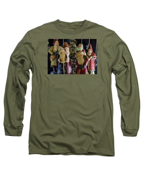 Gathering Of Father Christmas Long Sleeve T-Shirt