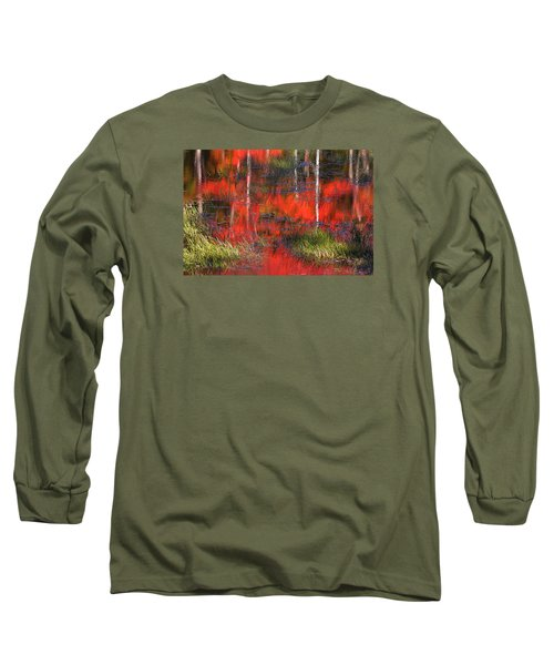 Gatineau Marsh Fall Colors Long Sleeve T-Shirt