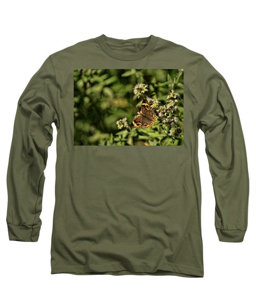 General Butterfly Long Sleeve T-Shirt by Rick Friedle