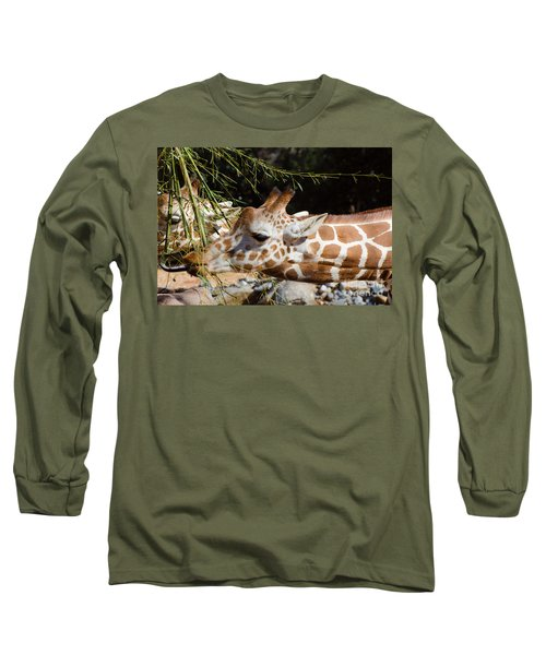 Gentle Beauty Long Sleeve T-Shirt by Donna Brown
