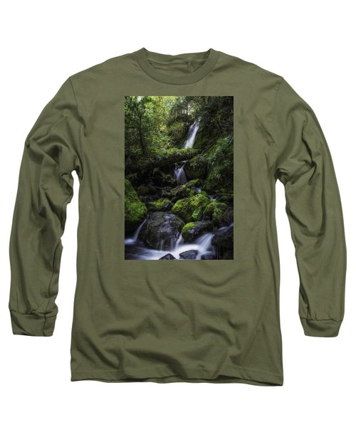 Gentle Cuts Long Sleeve T-Shirt by James Heckt