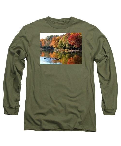 Gentle Reflections Long Sleeve T-Shirt by Teresa Schomig