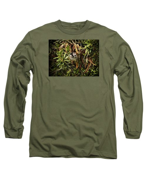 Long Sleeve T-Shirt featuring the photograph George by Cameron Wood