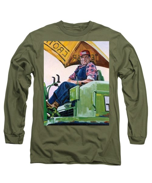 George The Artist Long Sleeve T-Shirt