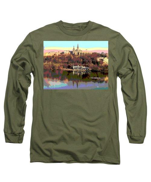 Georgetown University Crew Team Long Sleeve T-Shirt