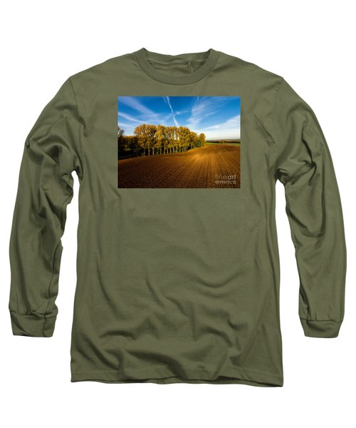 Fields From Above Long Sleeve T-Shirt