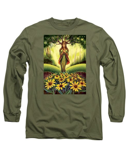 Get Grounded - Black Eyed Susan Long Sleeve T-Shirt
