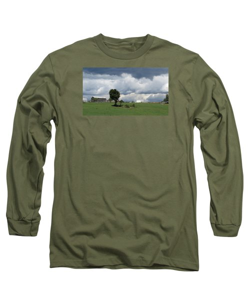 Getting Stormy Long Sleeve T-Shirt by Jeanette Oberholtzer