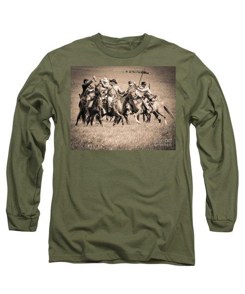 Gettysburg Cavalry Battle 7948s  Long Sleeve T-Shirt