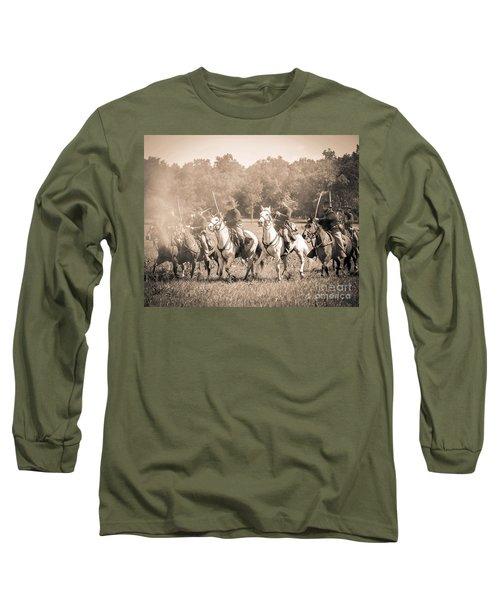 Gettysburg  Union Cavalry 7901s  Long Sleeve T-Shirt