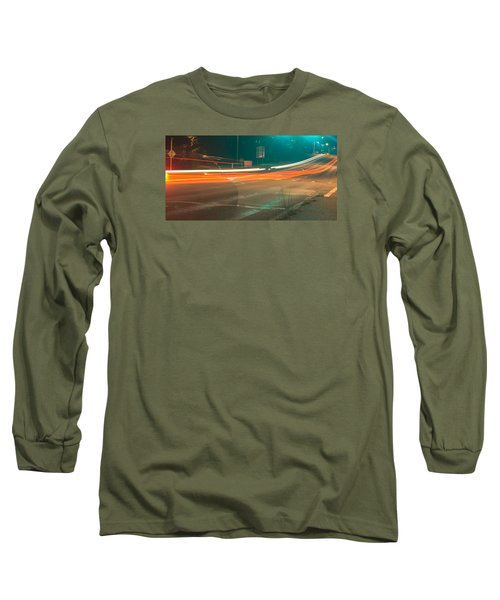 Ghostly Cars Long Sleeve T-Shirt
