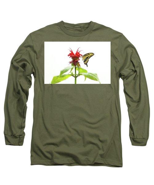 Giant Swallowtail Butterfly Long Sleeve T-Shirt