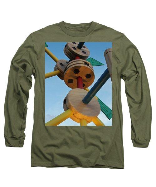 Giant Tinker Toys Long Sleeve T-Shirt