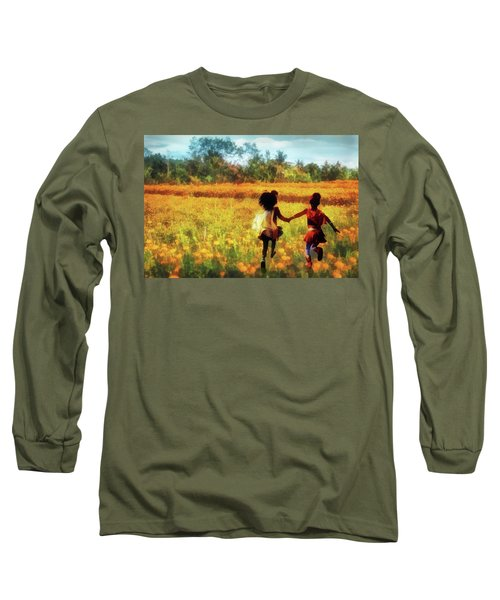 Gia's Field Of Dreams Long Sleeve T-Shirt