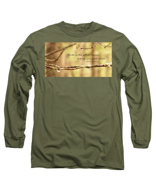 Gift Of Art Long Sleeve T-Shirt