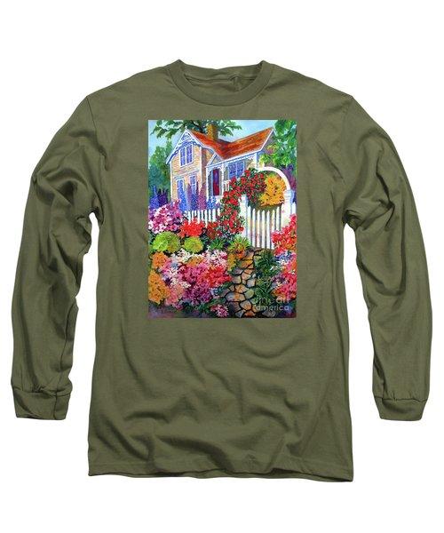 Gingerbread In Bloom Long Sleeve T-Shirt
