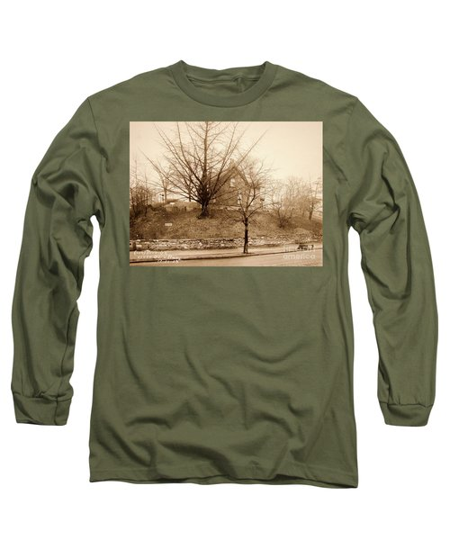 Ginkgo Tree, 1925 Long Sleeve T-Shirt by Cole Thompson