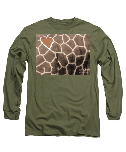 Giraffe Love Long Sleeve T-Shirt