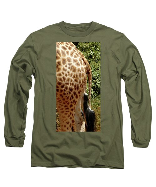 Giraffe Tails Long Sleeve T-Shirt