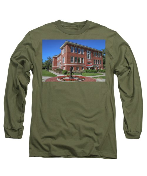 Long Sleeve T-Shirt featuring the photograph Girard Hall Day Shot by Gregory Daley  PPSA