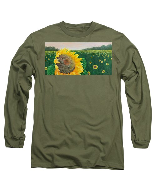 Long Sleeve T-Shirt featuring the painting Giver Of Life by Susan DeLain