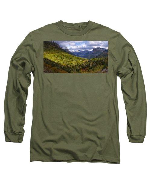 Glacier Storm Long Sleeve T-Shirt
