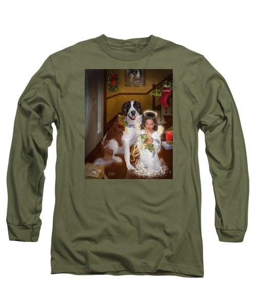 Glad Tidings Long Sleeve T-Shirt by Doug Kreuger